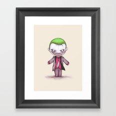 Suicide Clown Framed Art Print
