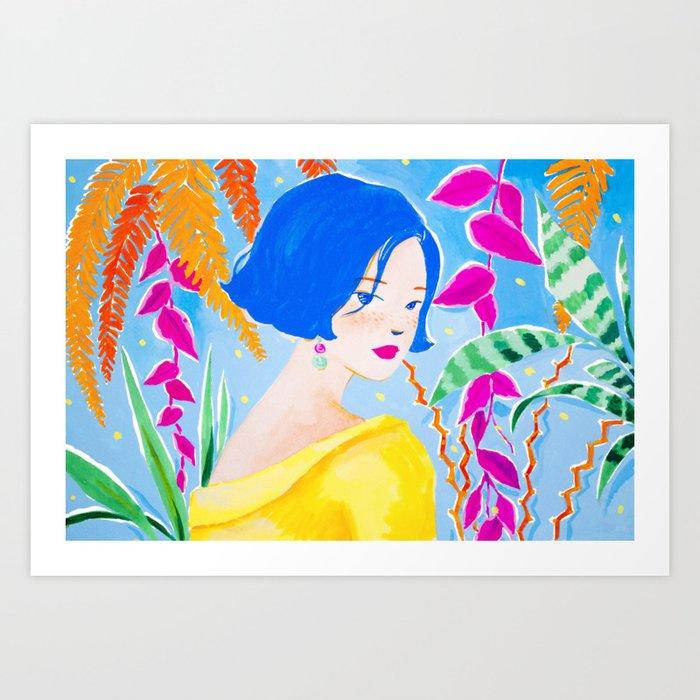 Mystical Jungle Art Print