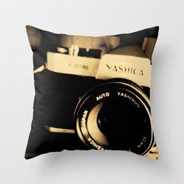 My Yashica Throw Pillow
