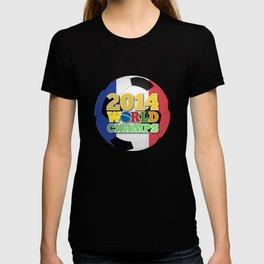 2014 World Champs Ball - France T-shirt