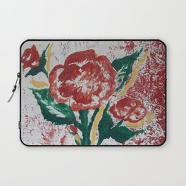 Painted  Rose Laptop Sleeve