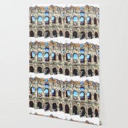 FORUM ROMANUM COLOSSEUM Wallpaper