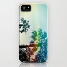 Palm trees of Barcelona iPhone (5, 5s) Slim Case