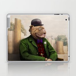 Remy Rottweiler Amid the Ancient Ruins Laptop & iPad Skin