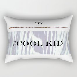 #Cool Kid - Yes to Youth Rectangular Pillow