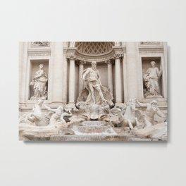 Trevi Fountain II Metal Print