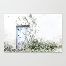 VINTAGEDOOR Canvas Print