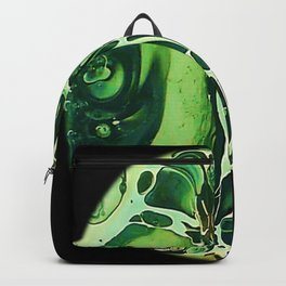 Tint Blot - Cracked Glass Green Backpack