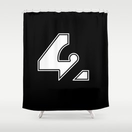 42 - Forty Two 2 Shower Curtain