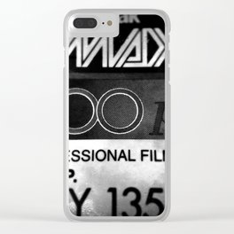 analogue 002 Clear iPhone Case