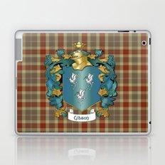 Gibson Coat of Arms and Tartan Laptop & iPad Skin