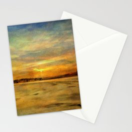 Winter Thaw at the Bashakill Stationery Cards