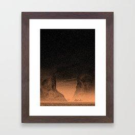 Blood Meridian Framed Art Print