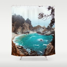 Julia Pfeiffer Burns State Park Shower Curtain
