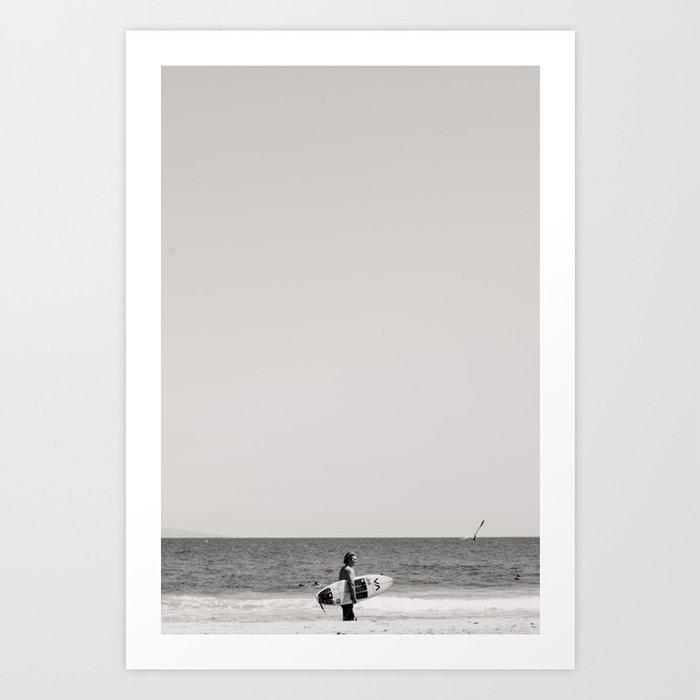surfer iii Art Print