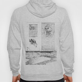 Death's newspaper booth Hoody