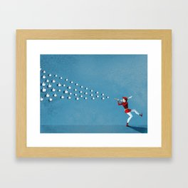 Opinion Leader and Influencers | Social Media Framed Art Print