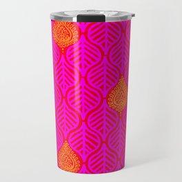 PLANTAIN PALACE - RED/PINK/ORANGE Travel Mug