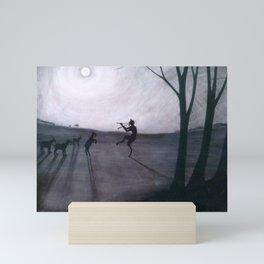 Léon Spilliaert - Faun by moonlight - Faun bij maneschijn Mini Art Print