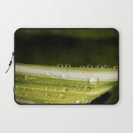 Garden Raindrops Laptop Sleeve