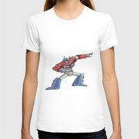 optimus prime T-shirts featuring Optimus Prime by joanniegelinas