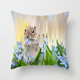 The End of Spring Throw Pillow