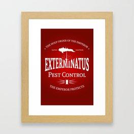 Exterminatus Framed Art Print