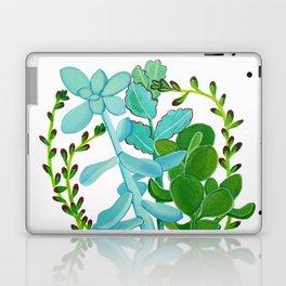 Indian Pot with Succulents Laptop & iPad Skin