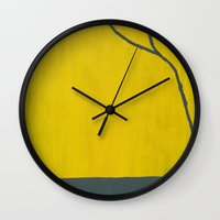 dirty dancing Wall Clocks featuring Dirty by sheil