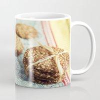 cookies Mugs featuring Cookies by Leonor Saavedra