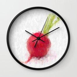Big Radish Wall Clock
