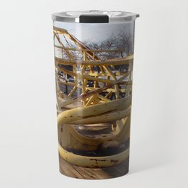 Yellow Skeleton Travel Mug