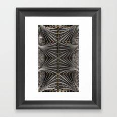 Ceiling bosses Framed Art Print