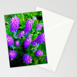 FLOWER TOWERS Stationery Cards