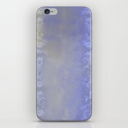 Salted earth abstract- mineral instruction iPhone Skin