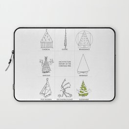 Architecture History of the Christmas Tree Laptop Sleeve