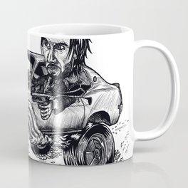 Rockabilly Monter Car Coffee Mug