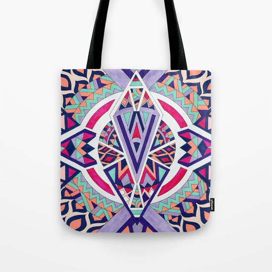 Abstract Journey II Tote Bag