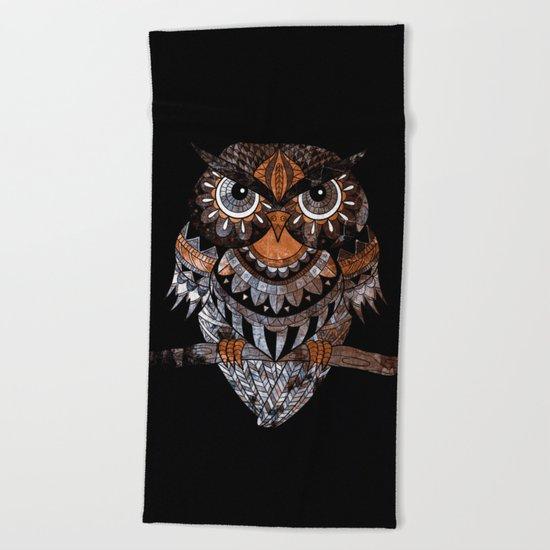 OWL 3 Beach Towel