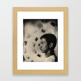 Spiral Minded Framed Art Print