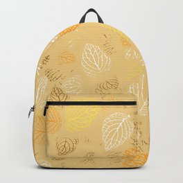 Autumn, Leaves Pattern 3 Backpack