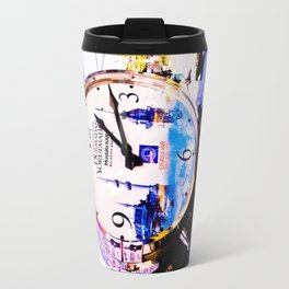 Watch marques not hours. Travel Mug