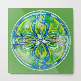 Mandalas of Healing and Awakening 6 Metal Print