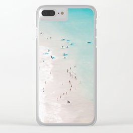 beach - summer love II Clear iPhone Case