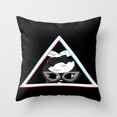 Kat Blaque Throw Pillow