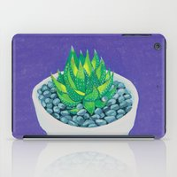 succulent iPad Cases featuring Succulent by marlene holdsworth