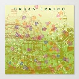 Urban Spring Canvas Print
