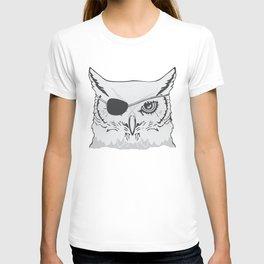 Owl Pirate T-shirt