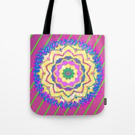 Mixed Mandala Tote Bag