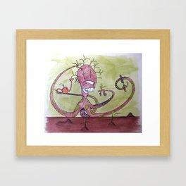 Dedication Framed Art Print